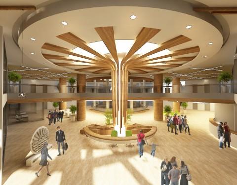 Belediye Binası Fuaye Konsept Tasarımı
